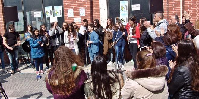 Επίσκεψη 1ου Γυμνασίου Δράμας – Κοινές δράσεις