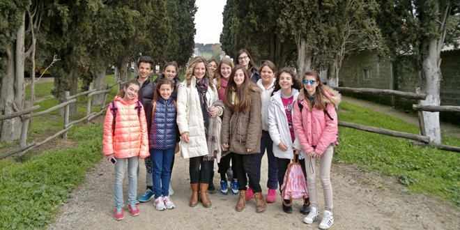 Εκπαιδευτική επίσκεψη της ομάδας «Περιβαλλοντική Οδύσσεια» στην Αμερικανική Γεωργική Σχολή