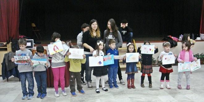 Επίσκεψη Νηπιαγωγείου  Παλαγίας στο σχολείο μας