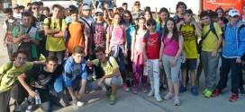 """Εκπαιδευτική επίσκεψη Περιβαλλοντικής ομάδας """"Τα τρία βέλη"""" και Δημοσιογραφικής ομάδας στη Σαμοθράκη"""