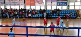 Μαθητές μας στον φιλικό αγώνα handball της εθνικής εφήβων Ελλάδας – Βουλγαρίας