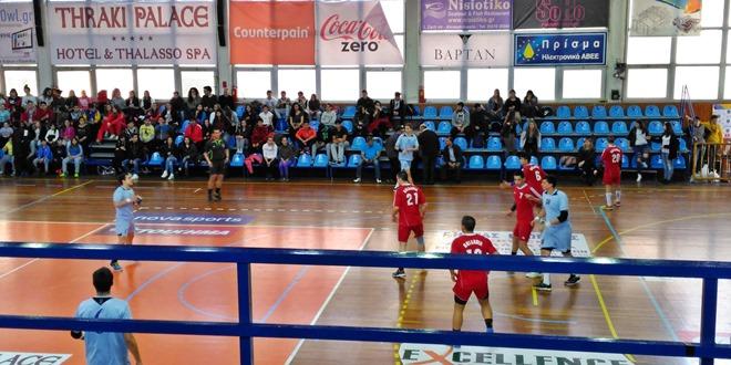 Μαθητές μας στον φιλικό αγώνα handball της εθνικής εφήβων Ελλάδας ? Βουλγαρίας