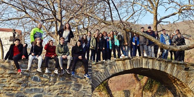 Εκπαιδευτική επίσκεψη του περιβαλλοντικού προγράμματος  «ΣΧΕΔΙΑΖΟΝΤΑΣ ΕΝΑ ΑΣΤΙΚΟ ΠΕΡΙΒΑΛΛΟΝΤΙΚΟ ΜΟΝΟΠΑΤΙ» στο ΚΠΕ Αρναίας και στη Θεσσαλονίκη
