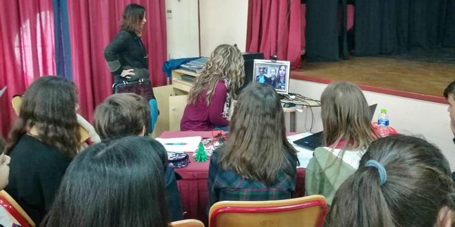 Τηλεδιάσκεψη Λιθουανών και Ελλήνων μαθητών στο πλαίσιο του προγράμματος  Erasmus+ KA2: H εικόνα του Άλλου μέσα από τη λογοτεχνία