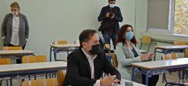 Ο Δήμαρχος της Αλεξανδρούπολης στο σχολείο μας…